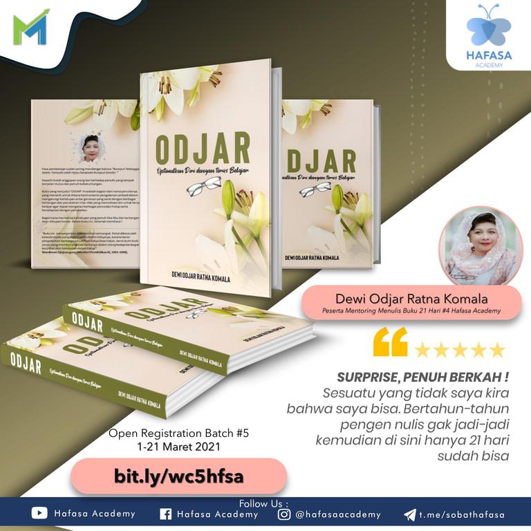 Flyer Testimoni Dewi Odjar